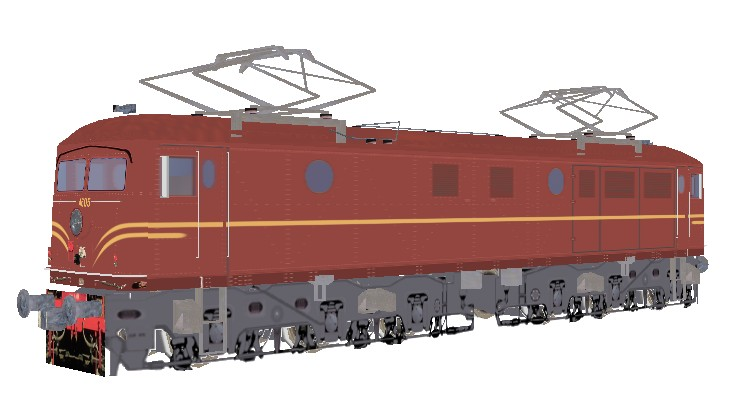 46 Class Electric Locomotive ( NSW) for MSTS - at the Steam4me Site