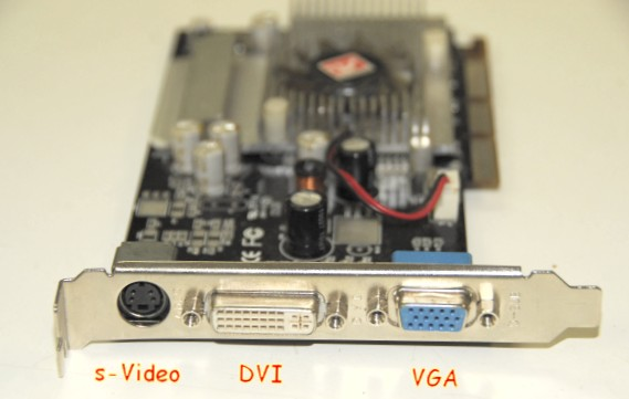 Connecting your myhd pc hdtv card to your hdtv with dvi daughter card.