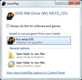 4d8c8b2241 When you run setup, Windows will try to install MSTS in its default folder,  C:\Program Files\Microsoft Games\Train Simulator in 32-bit systems or